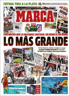 Portada Marca: derbi madrileño