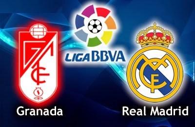 Alineación y la previa Granada-Real Madrid. Jornada 10