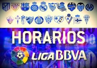Horarios partidos sábado 18 de octubre: Jornada 8 Liga Española