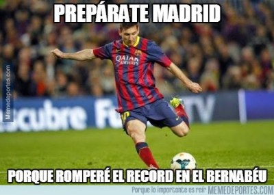 Los memes de la previa Real Madrid-Barcelona: el clásico messi