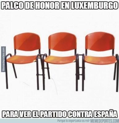 Los mejores memes del partido Luxemburgo-España
