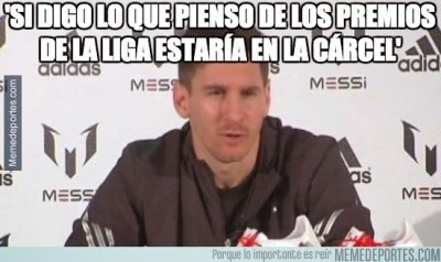 Los memes de los premios LFP