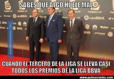 Los memes de los premios LFP y nominados al Balón de Oro