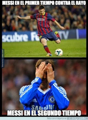 Los mejores memes del Rayo Vallecano-Barcelona
