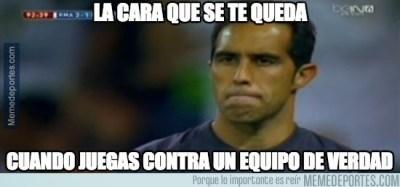 Los memes del clásico Real Madrid-Barcelona: Jornada 9 claudio bravo