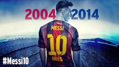 Lionel Messi: 10 años de Leyenda