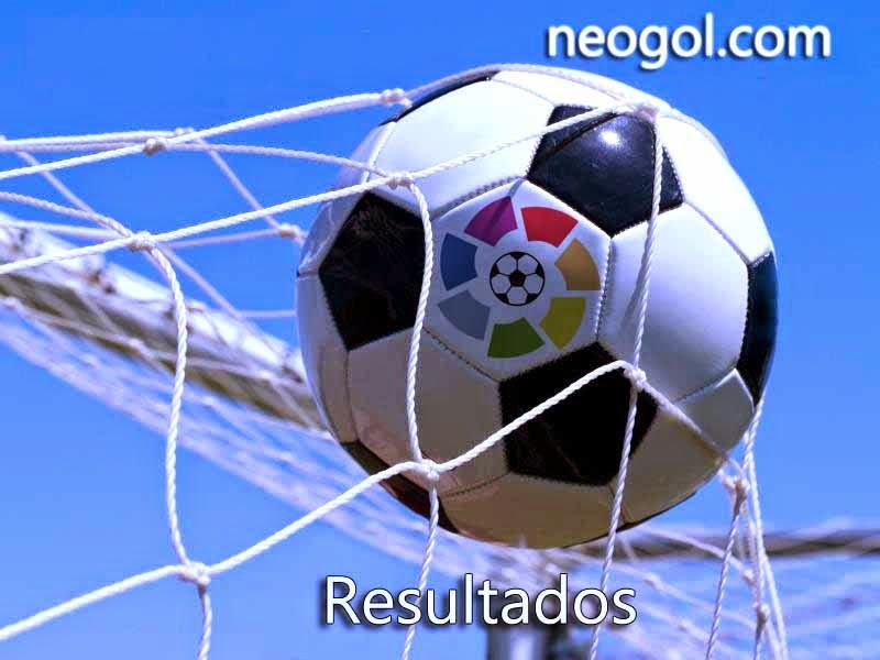 Resultados Jornada 9 Liga Española 2014
