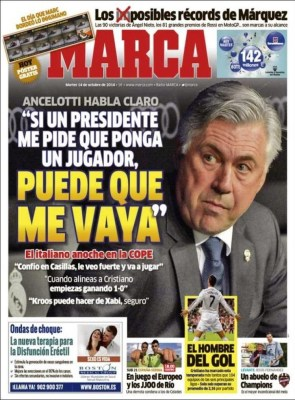 Portada Marca: Ancelotti