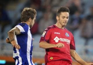 Real Sociedad 1-Getafe 2. Jornada 8 Liga Española