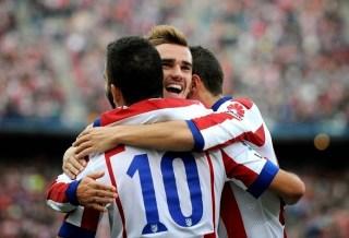 Atlético Madrid 3-Málaga 1. Jornada 12 Liga Española