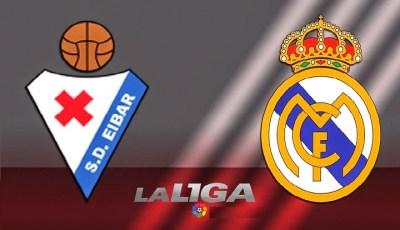 Alineación y la previa Éibar-Real Madrid. Jornada 12