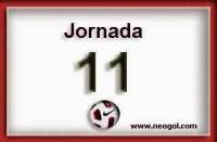 Partidos Jornada 11. Liga Española BBVA 2014