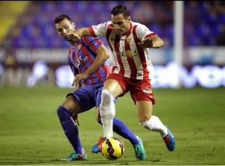 Levante 2-Almería 1. Jornada 10 Liga Española