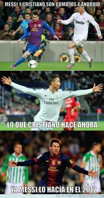 Los mejores memes de Argentina-Portugal. Amistoso internacional messi ronaldo