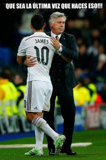 Los mejores memes del Real Madrid-Rayo Vallecano: Liga Española james ancelotti
