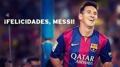 Emocionante video homenaje a Messi por superar a Zarra en el Camp Nou