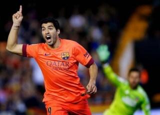 Valencia 0-Barcelona 1. Jornada 13 Liga Española