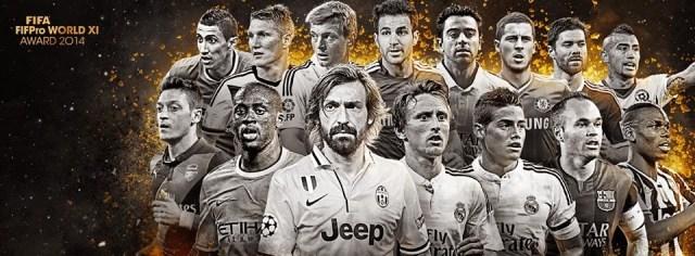 Premios FIFPro 2014: candidatos a mejor centrocampista