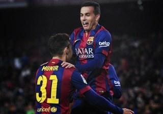 Barcelona 8-Huesca 1. Dieciseisavos Copa del Rey