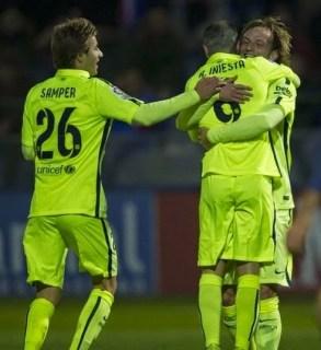 Huesca 0-Barcelona 4. Dieciseisavos Copa del Rey