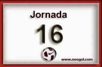 Partidos Jornada 16. Liga Española BBVA 2014