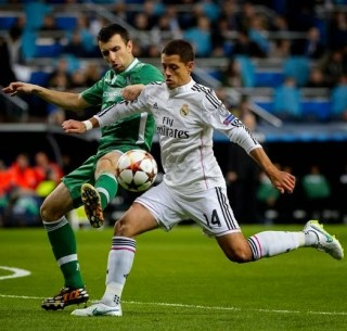 Real Madrid 4-Ludogorets 0. Champions League 2014