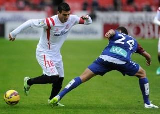 Sevilla 0-Éibar 0. Jornada 15 Liga Española