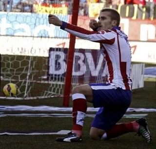 Atlético Madrid 3-Levante 1. Jornada 17 Liga Española