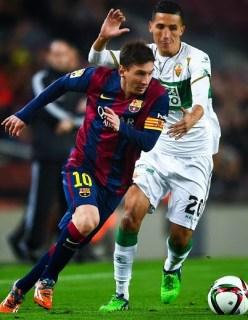 Barcelona 5-Elche 0. Octavos Copa del Rey (ida)
