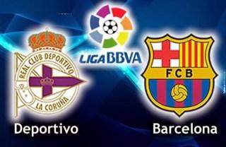 Alineación y la previa Deportivo-Barcelona. Jornada 19