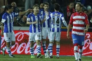 Granada 1-Real Sociedad 1. Jornada 18 Liga Española