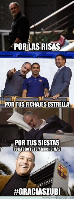 Los mejores memes del despido de Zubizarreta del Barça