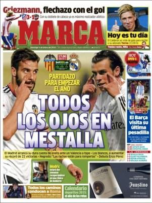 Portada Marca: todos los ojos en Mestalla