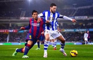 Real Sociedad 1-Barcelona 0. Jornada 17 Liga Española
