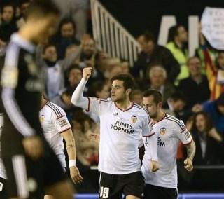 Valencia 2-Real Madrid 1. Jornada 17 Liga Española