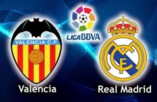Alineación y la previa Valencia-Real Madrid. Jornada 17