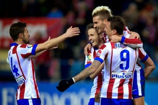 Atlético Madrid 3-Almería 0. Jornada 24 Liga Española griezmann