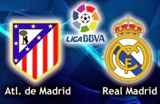 Alineación y la previa Atlético Madrid-Real Madrid. Jornada 22