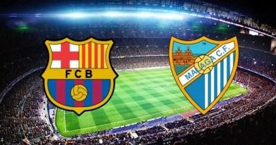 Alineación y la previa Barcelona-Málaga. Jornada 24