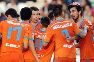 Córdoba 1-Valencia 2. Jornada 24 Liga Española