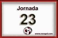 Partidos Jornada 23. Liga Española BBVA 2015