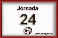 Partidos Jornada 24. Liga Española BBVA 2015