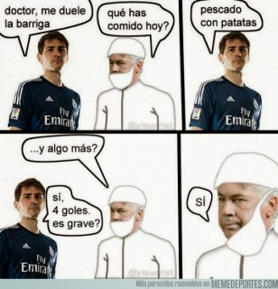 Los mejores memes de la goleada del Atlético al Real Madrid casillas
