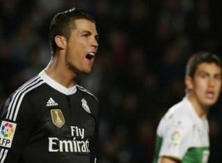 Elche 0-Real Madrid 2. Jornada 24 Liga Española
