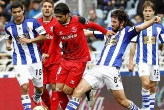Real Sociedad 4-Sevilla 3. Jornada 24 Liga Española