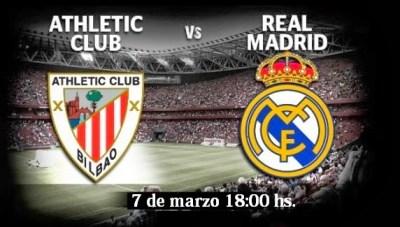 Alineación y la previa Athletic Bilbao-Real Madrid. Jornada 26