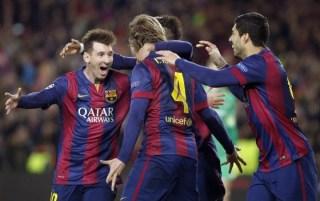 El Barça vence 1-0 al M. City y pasa a cuartos de Champions