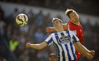 Deportivo la Coruña 3-Sevilla 4. Jornada 26 Liga Española