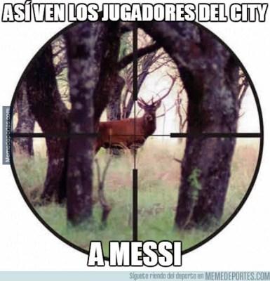 Los mejores memes del Barcelona-M. City: Champions