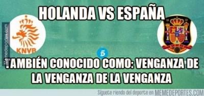 Los mejores memes de Holanda-España: Amistoso 2015